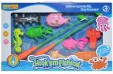 Set de joaca Undite de pescuit si pesti, 1 set/cutie