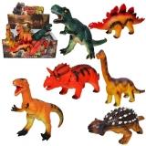 Set de joaca Dinozaur cauciucat cu baterii, 6 buc/set