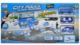 Set de joaca Parcare cu masini de politie si accesorii, 46 piese/cutie