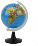 Glob pamantesc, harta politica, diametru 10.6 cm