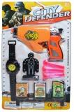 Set de joaca Pistol cu ventuze si accesorii