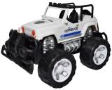 Jucarie Jeep politie cu frictiune