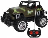Jucarie Jeep militar cu telecomanda RC Military Power SUVS