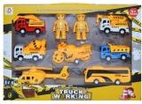 Set de joaca Constructii cu vehicule si figurine