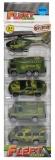 Set de joaca Vehicule Armata, 5 buc/cutie