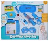Set de joaca Doctor, 10 piese/cutie