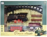 Set de joaca clasic Trenulet cu baterii, in cutie