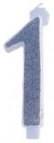 Lumanare aniversara gigant, cifre 0 - 9, 12.5 cm
