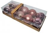 Globuri pentru pomul de Craciun, color, 8 cm, 10 buc/set