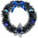 Coronita Craciun, cu ornamente si fundite