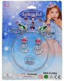Set de joaca Coronita printesa cu cercei si inel