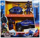 Set de joaca Politie cu vehicule si figurine