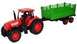 Jucarie Tractor cu remorca, 39 cm