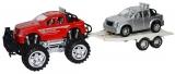 Jucarie Jeep cu remorca si masina