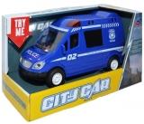 Jucarie Masina de politie cu frictiune, in cutie