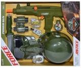 Set de joaca armata cu pistol mitraliera si accesorii