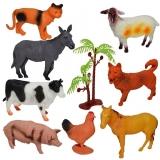 Set de joaca Animale ferma, 8 buc/set