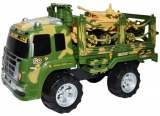 Jucarie Camion militar cu tanc