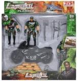 Set de joaca Armata, vehicul, figurine si accesorii
