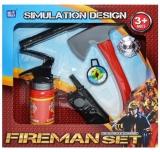 Set de joaca Unelte pompieri, 6 piese/cutie