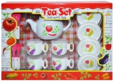 Set de joaca Cescute, ceainic si accesorii, 1 set/cutie