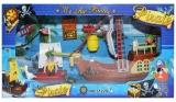 Corabie cu pirati si accesorii, in cutie