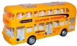 Jucarie Autobuz etajat, cu baterii