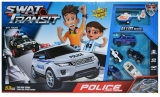 Set de joaca Pista cu vehicule politie, 53 piese/cutie