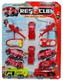 Set de joaca Pompieri, 12 vehicule/blister