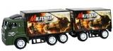 Jucarie Camion cu remorca Military