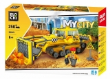 Joc constructie, My City, Buldozer, 250 piese Blocki