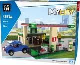 Joc constructie, My City, Benzinarie, 435 piese Blocki