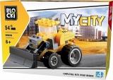 Joc constructie, My City, Buldozer, 54 piese Blocki