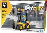 Joc constructie, My City, Stivuitor, 70 piese Blocki