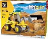 Joc constructie, My City, Excavator, 117 piese Blocki