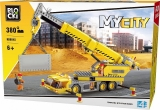 Joc constructie, My City, Macara, 380 piese Blocki
