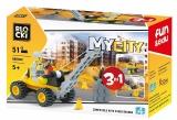 Joc constructie, My City, Macara 3:1, 51 piese Blocki
