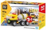 Joc constructie, My City, Betoniera 3:1, 69 piese Blocki