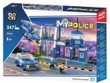 Joc constructie, My Police, Statie politie, 347 piese Blocki