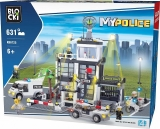 Joc constructie, My Police, Comisariat politie, 631 piese Blocki