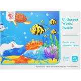 Puzzle Animale marine, 24 piese