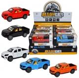 Jucarie Jeep din metal, cu usi care se deschid, diverse culori