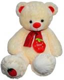 Ursulet de plus, Capsuna, 60 cm