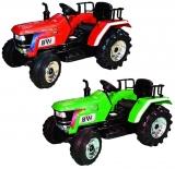 Tractor cu acumulator si 2 motoare, 12V