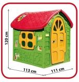 Casuta de joaca, verde, 111 cm