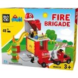 Joc constructie Sectia de Pompieri, 48 piese, Blocki mubi