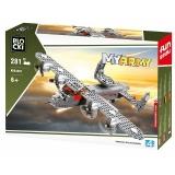 Joc constructie Avion militar cu elice, 281 piese, Blocki