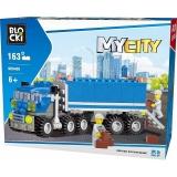 Joc constructie Camion, 163 piese, Blocki