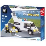 Joc constructie Masina politie, 85 piese, Blocki