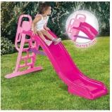 Tobogan pentru apa, roz, 114 cm, Dolu